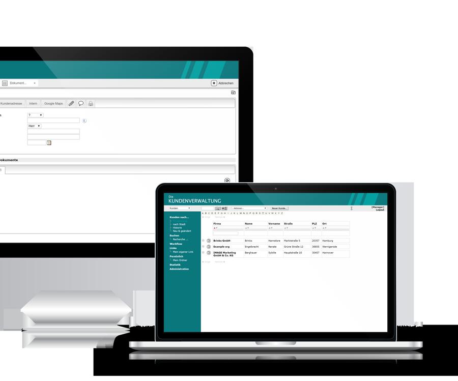 Kundenverwaltung - Eine Cloud Application von datenbanken24