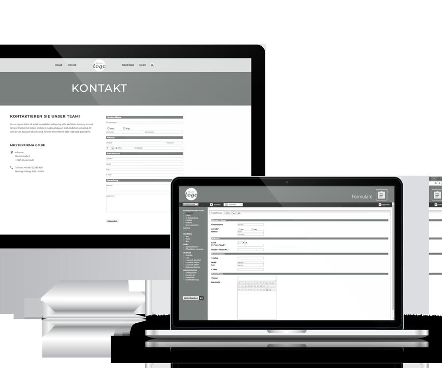 Anwendung Formulare von datenbanken24