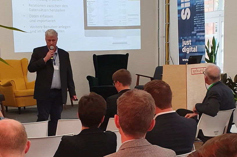 Vortrag von Ralf Brandt auf dem Berlin Low-Code Day 2019